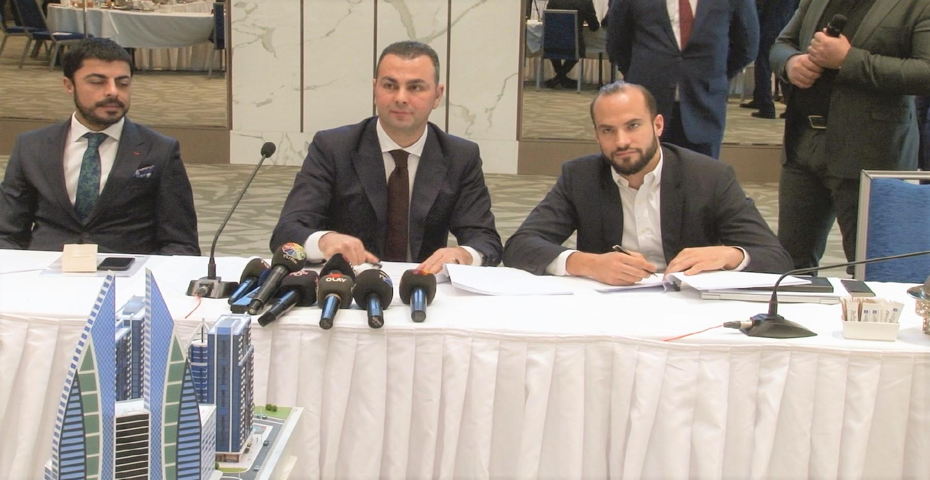 Delta İzsiz Holding and Radisson Group Signature Ceremony